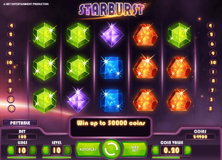 starburst казино
